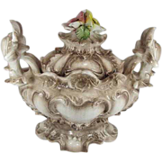 Large Capodimonte Soup Tureen