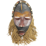 African Tribal Mask Dan