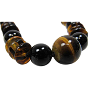 Chinese Tiger  Eye Necklace