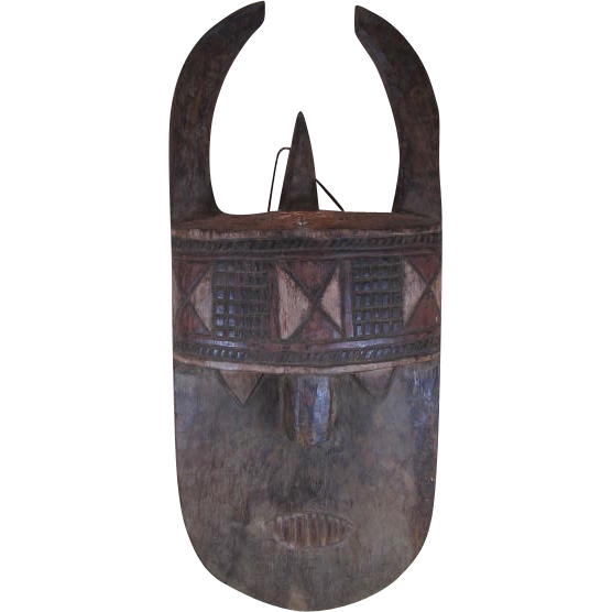 African Mask Toma Landai Wood Mask From