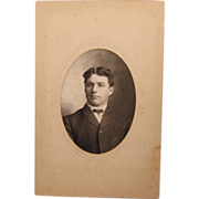 Cabinet Card Gentleman from Iowa