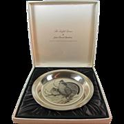 Audubon Sterling Plate by Lansdowne
