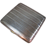 Cigarette / Card Case 900 Silver