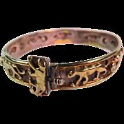 Vermeil Panther Bracelet