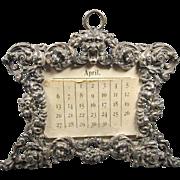 Sterling Photo/Calendar Frame