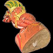 Carved Wood  Dragon Bali