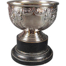 English Britannia Silver Plated Rose Bowl