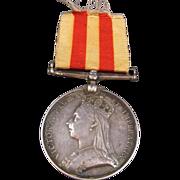 Afghanistan Medal 1878-79-80 Victoria
