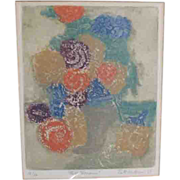 Intaglio by Ruth Kerkovius