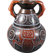 Pre-Columbian-Style Pottery Vase