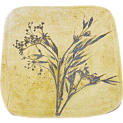 Finnish Artist Floral Plaque
