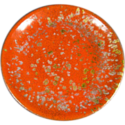 Enamel on Copper Dish/Plate