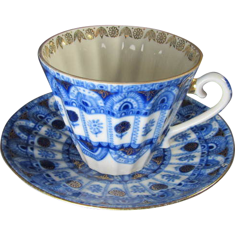 Russian Porcelain Cup Amp Saucer From Thesteffencollection