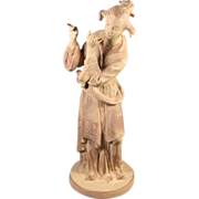 Asian Porcelain Figure of a Musician