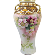 Nippon Hand Painted Vase