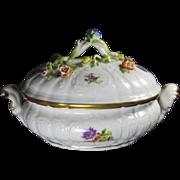 Meissen Porcelain Floral Tureen