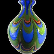 Chinese Art-Nouveau Style Art Glass Vase