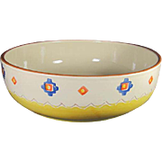 Large Portuguese Santa Fe Style Bowl