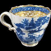 18th Century Caughley [ or salopian ] Tea Cup