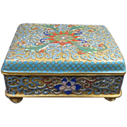 Chinese Enamel Box