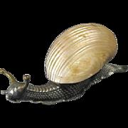 WMF shell Paper Weight as a snail