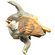 Burgues Bisque Porcelain Bird