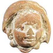 Ancient Greek Tanagra Head