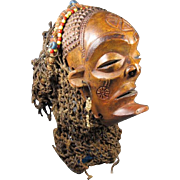 Artist Carved African Mask