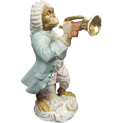 Antique Monkey Band Figurine