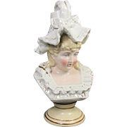 Old Paris Type Porcelain Girl Figurine