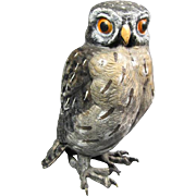 Austrian Bronze Owl - Red Tag Sale Item