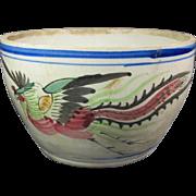 Antique Phoenix Bowl