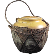 Chinese Pottery Tea Caddie