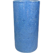 Tall Antique Chinese Blue Brushpot