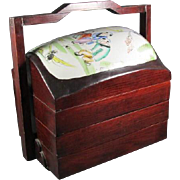 Three Tiered Chinese Storage box