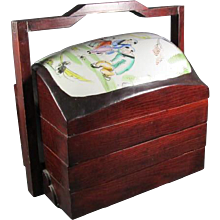Three Tiered Chinese Storage box