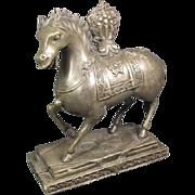 Sino-Tibetan Bronze Horse
