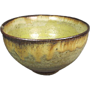 Old Art Pottery Ceramic Bowl