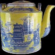 Huge Porcelain  Tea/Wine Pot from China