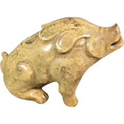 Chinese Pottery Boar/Pig
