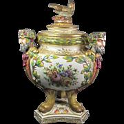 Capodimonte Jar/Urn
