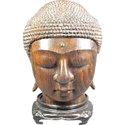 Carved Buddha Head