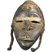 Old African Dan Tribal Mask
