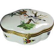 Limoges Box Birds/Butterflies
