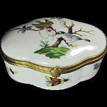 Limoges Box Birds/Butterflies