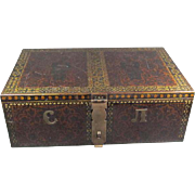 Old Steel Storage Box Russian