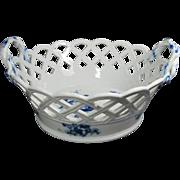 Continental Porcelain Bowl/Basket