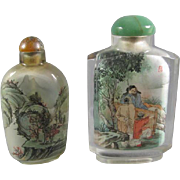 Pr Chinese Inside/Painted Snuff Bottles