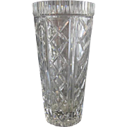 Tall Waterford Crystal Vase
