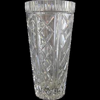 Tall Waterford Crystal Vase